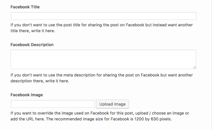 Open Graph Tags for Social Media Sharing