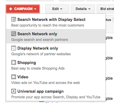 How to Start a New AdWords Campaign