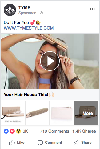 Facebook Collection Ads