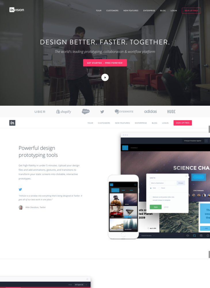 InVision | Free Web & Mobile Prototyping