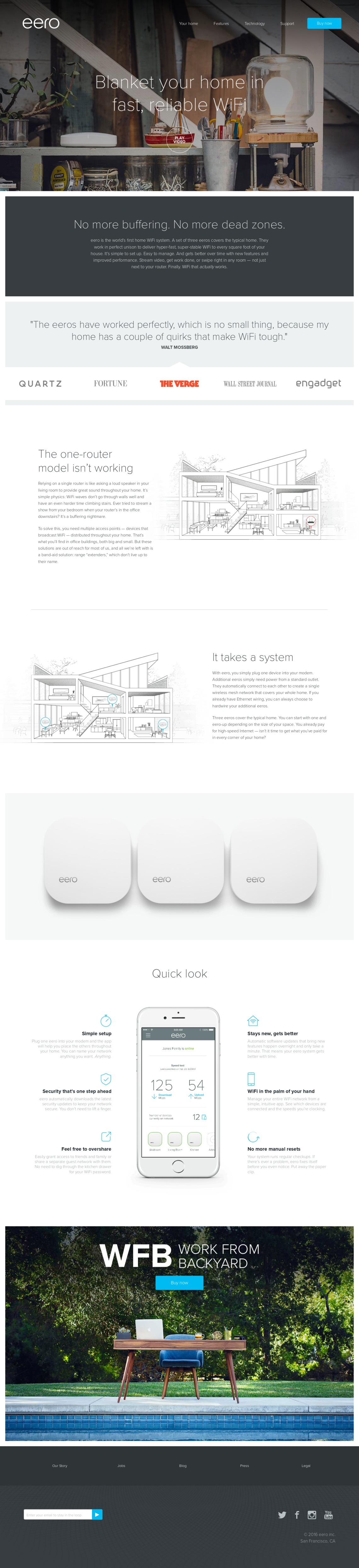 eero - Finally, WiFi that works