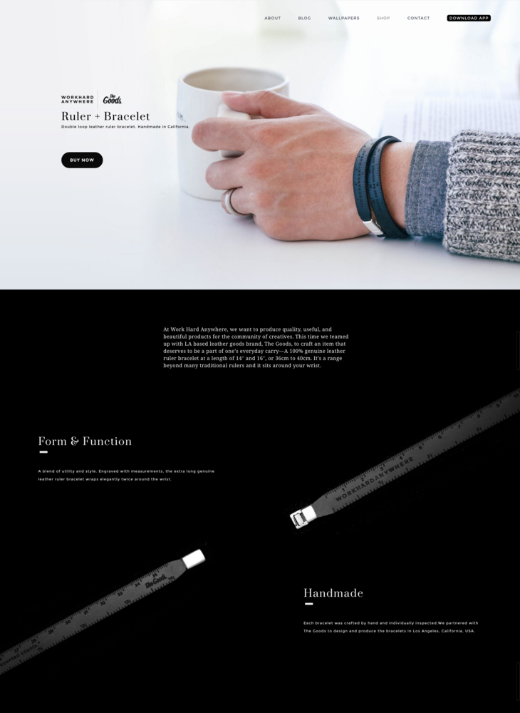 Ruler Bracelet — a blend of utility and style