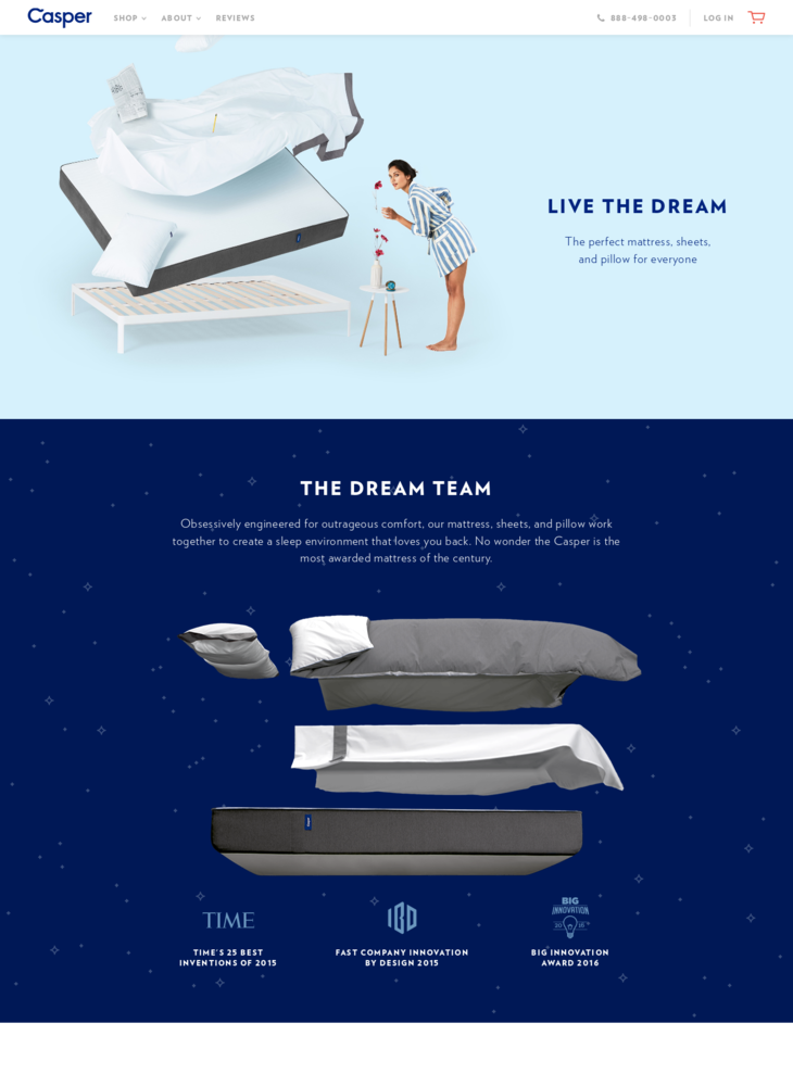 The Best Bed for Better Sleep | Casper®