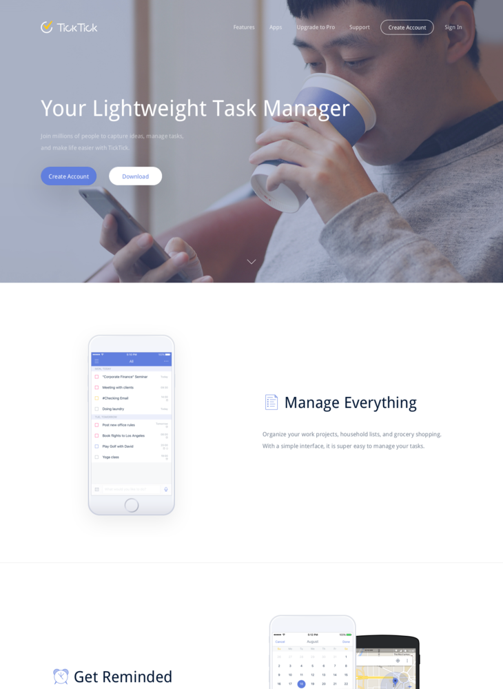 TickTick: Todo list, checklist and task manager app for Android, iPhone and Web