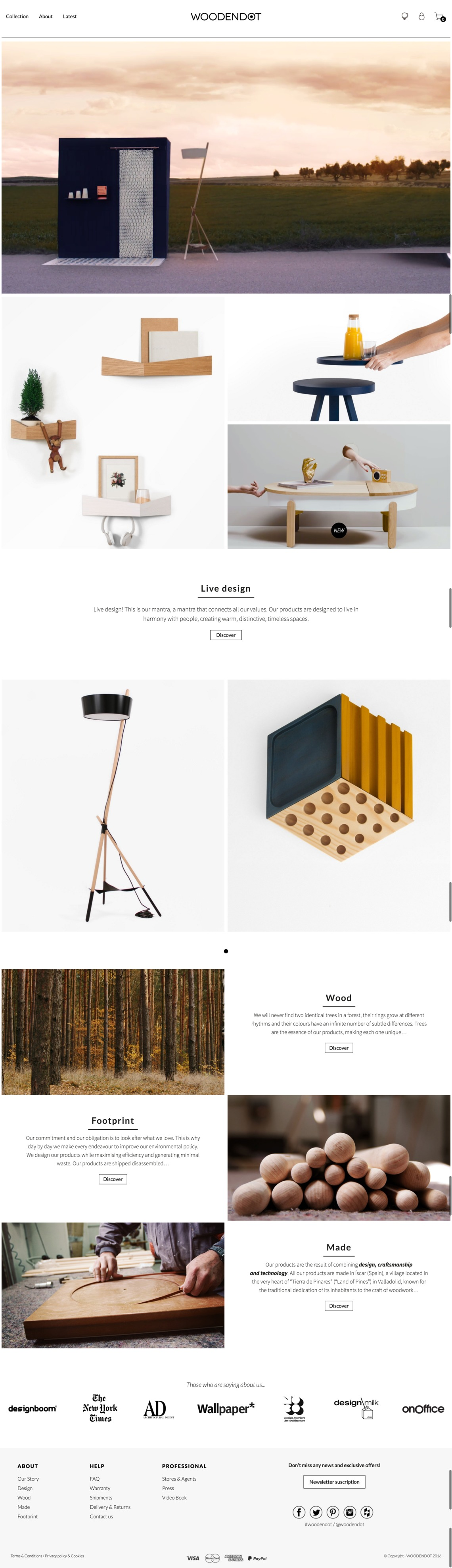 WOODENDOT: Furniture and accesories