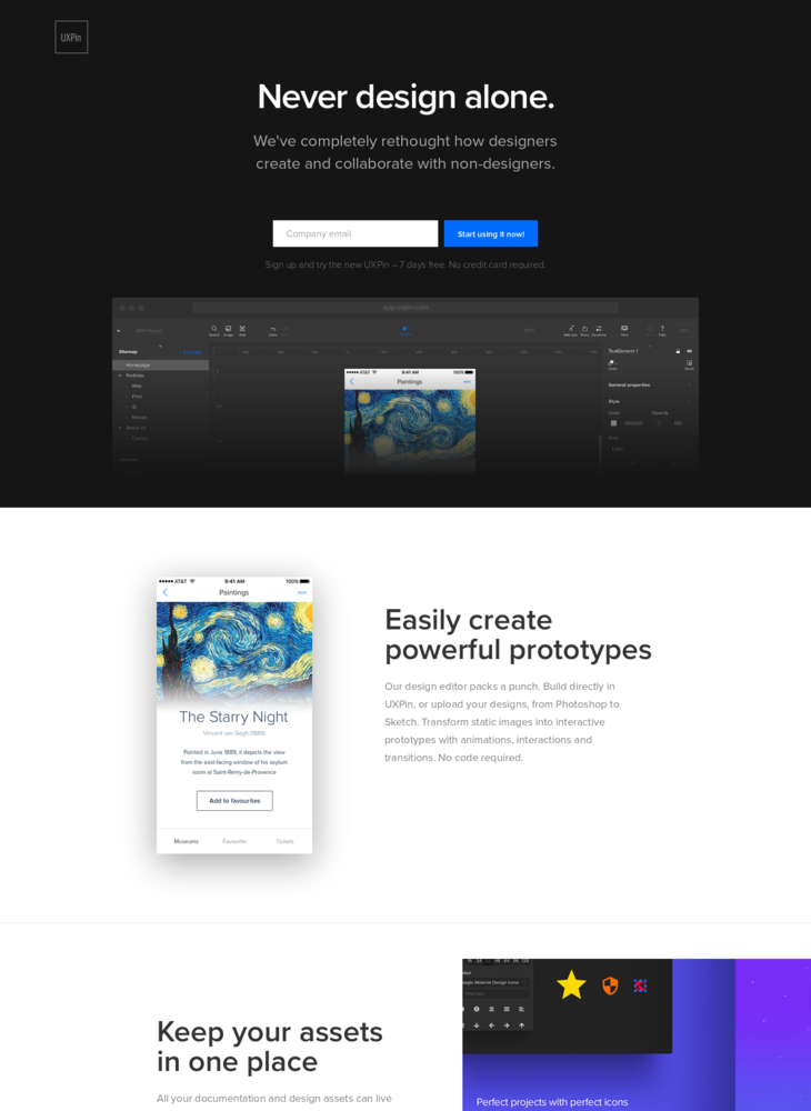 UXPin Redesigned