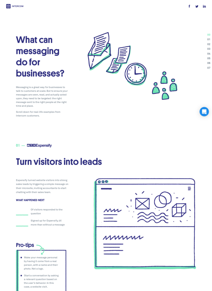 Intercom | Message Your Customers
