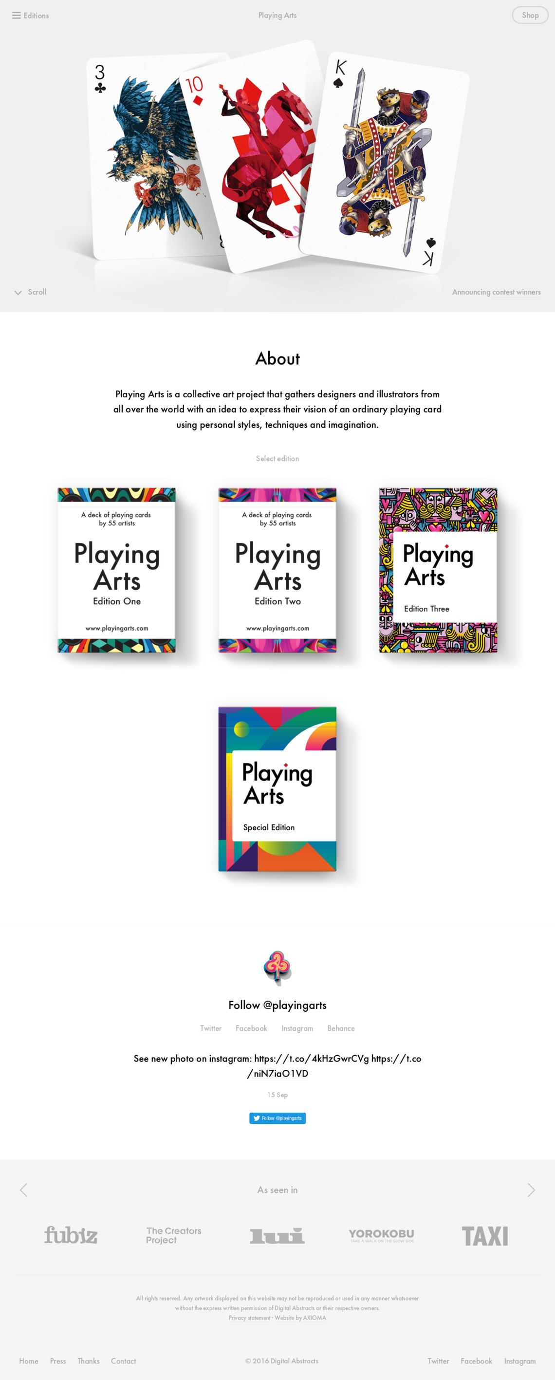 Playing Arts – Collective Art Project
