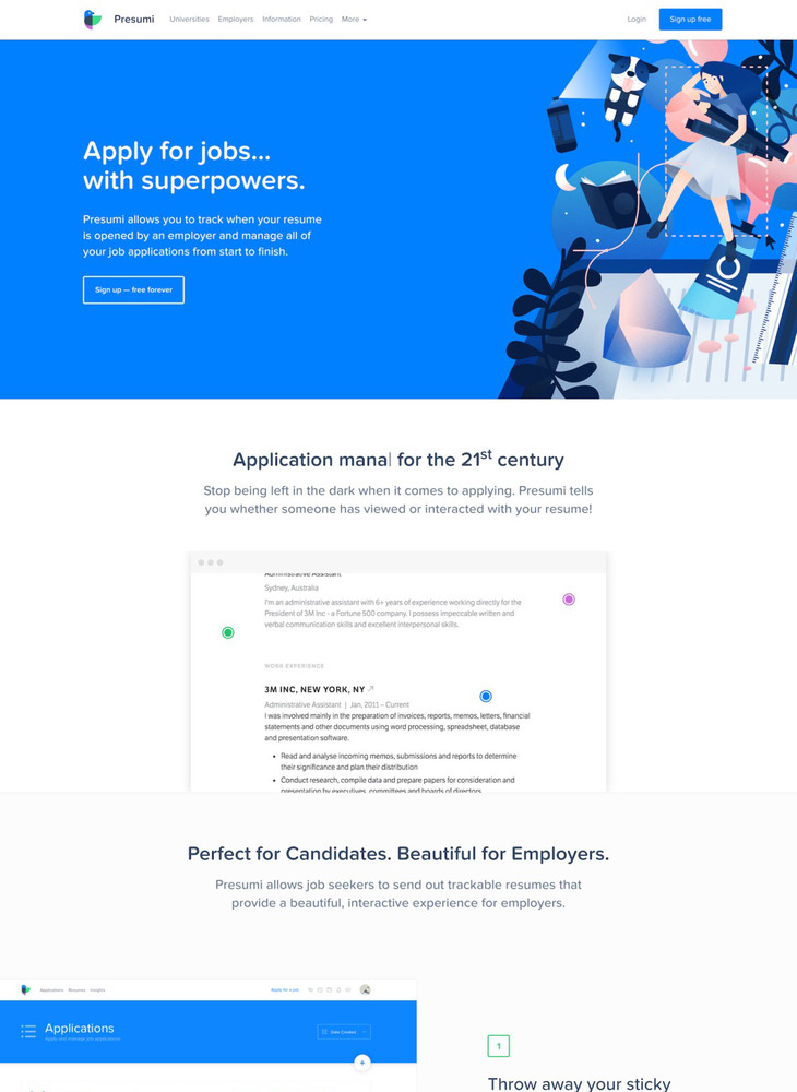Presumi - Apply for jobs... with superpowers