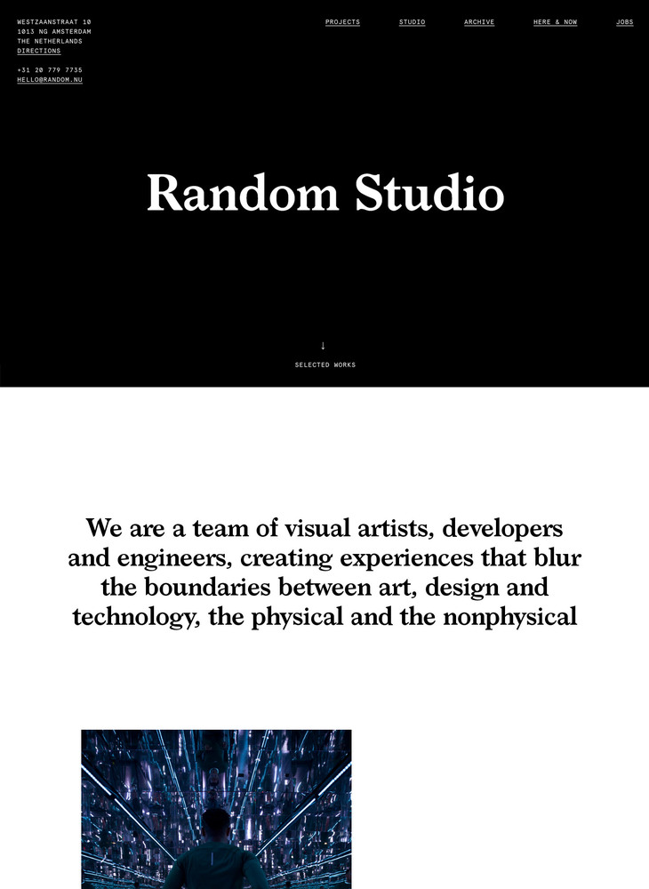 Random Studio — Selected Works