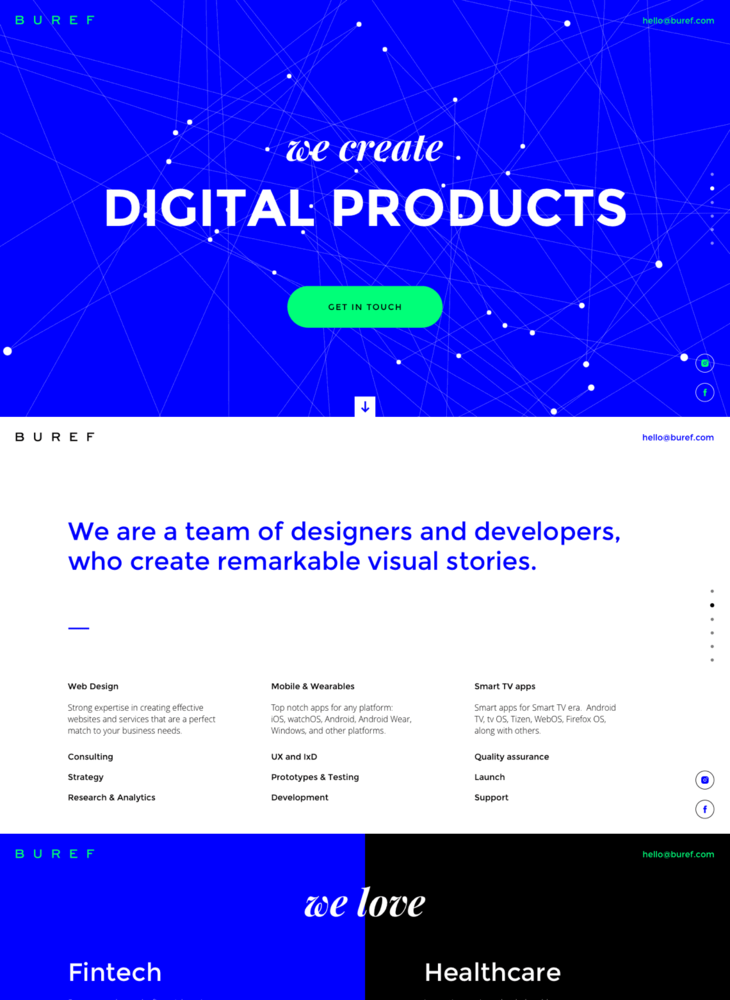 BUREF | Digital Agency