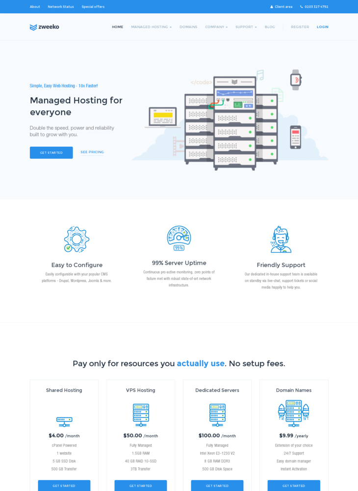 Zweeko | Managed Hosting Solutions
