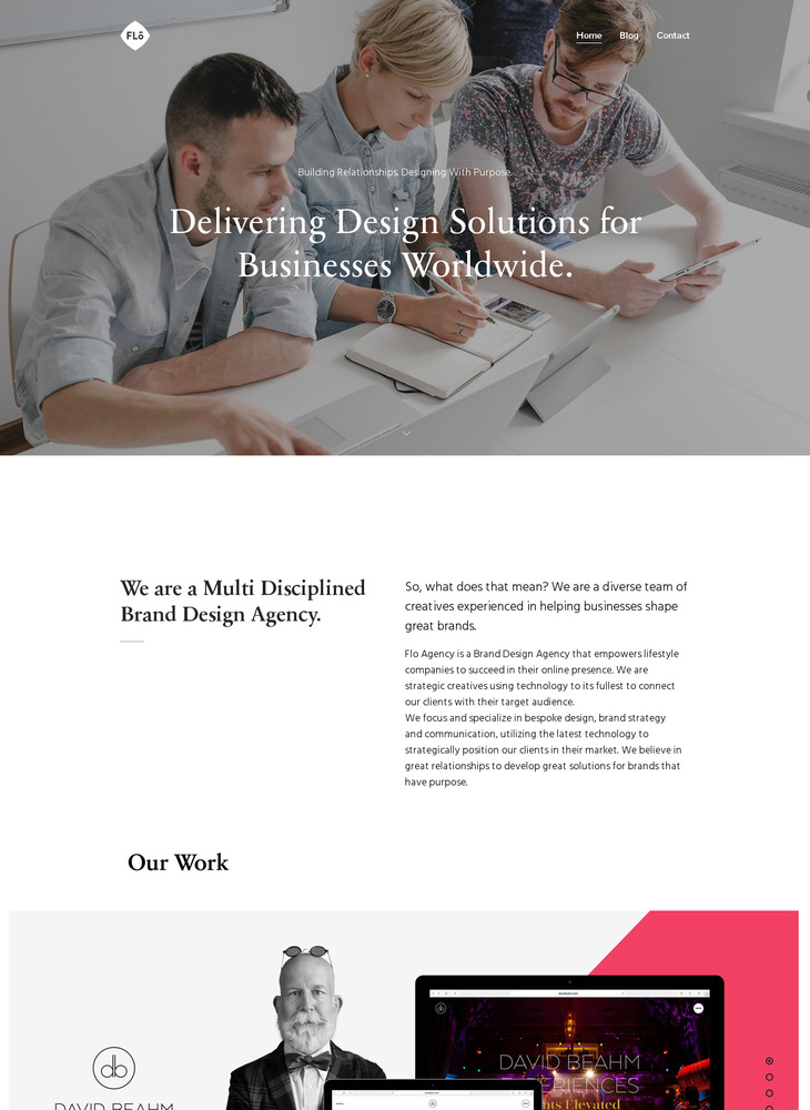 We are a Multi Disciplined Brand Design Agency. - FloAgency