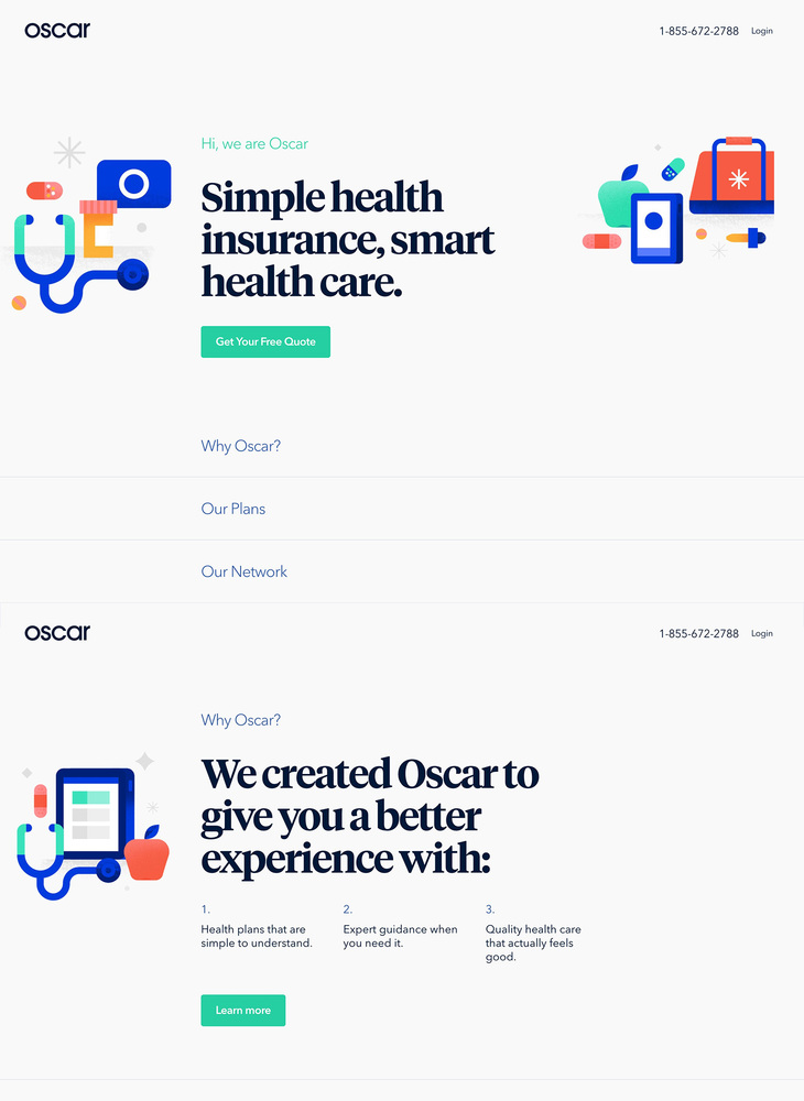 Oscar | Smart, simple health insurance.