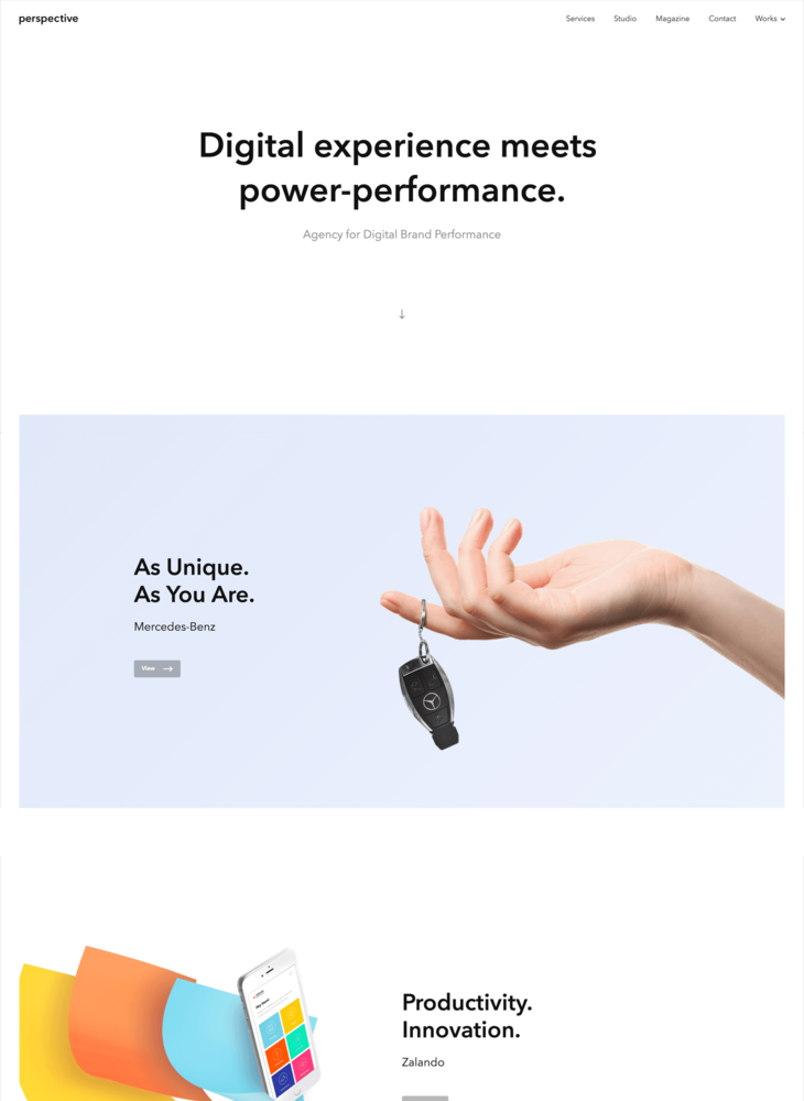 Perspective - Agency for Digital Brand Performance