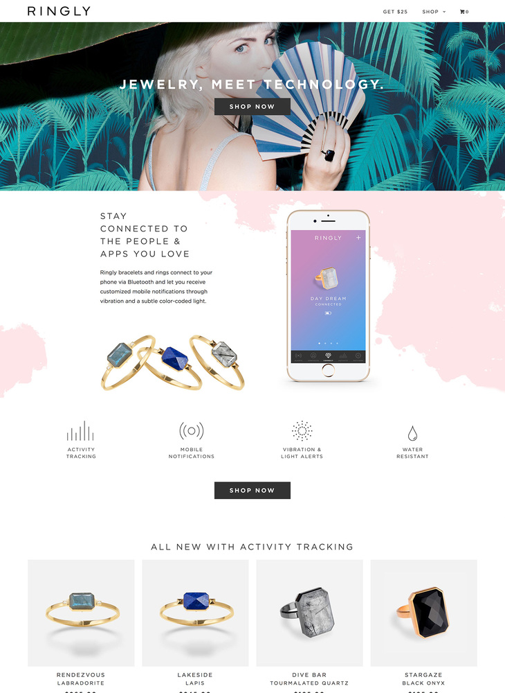 RINGLY | Smart Jewelry and Accessories