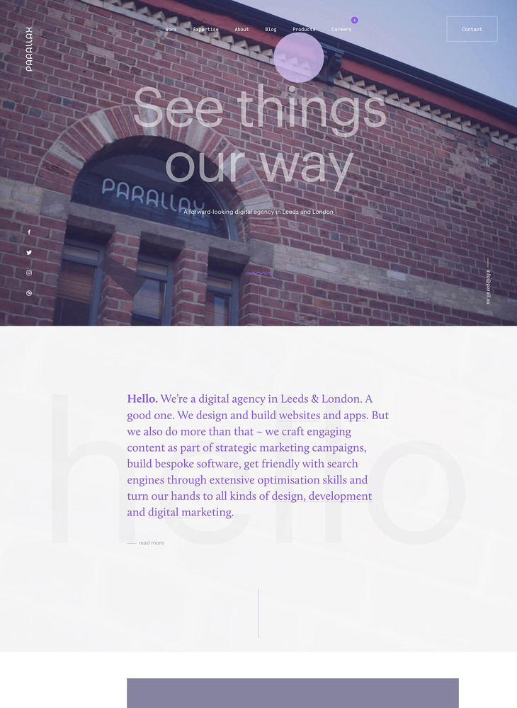 Digital Agency in Leeds & London | Parallax