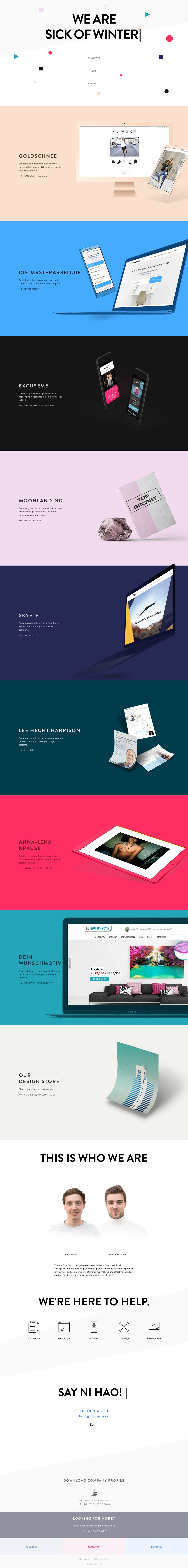 PixelPink – Design Studio Berlin