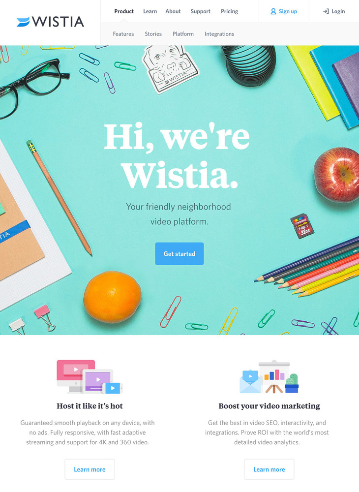 Video Hosting for Business | Wistia