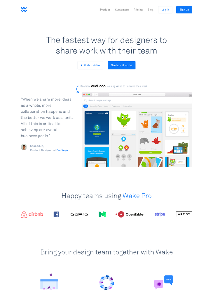 Wake: Design collaboration for teams