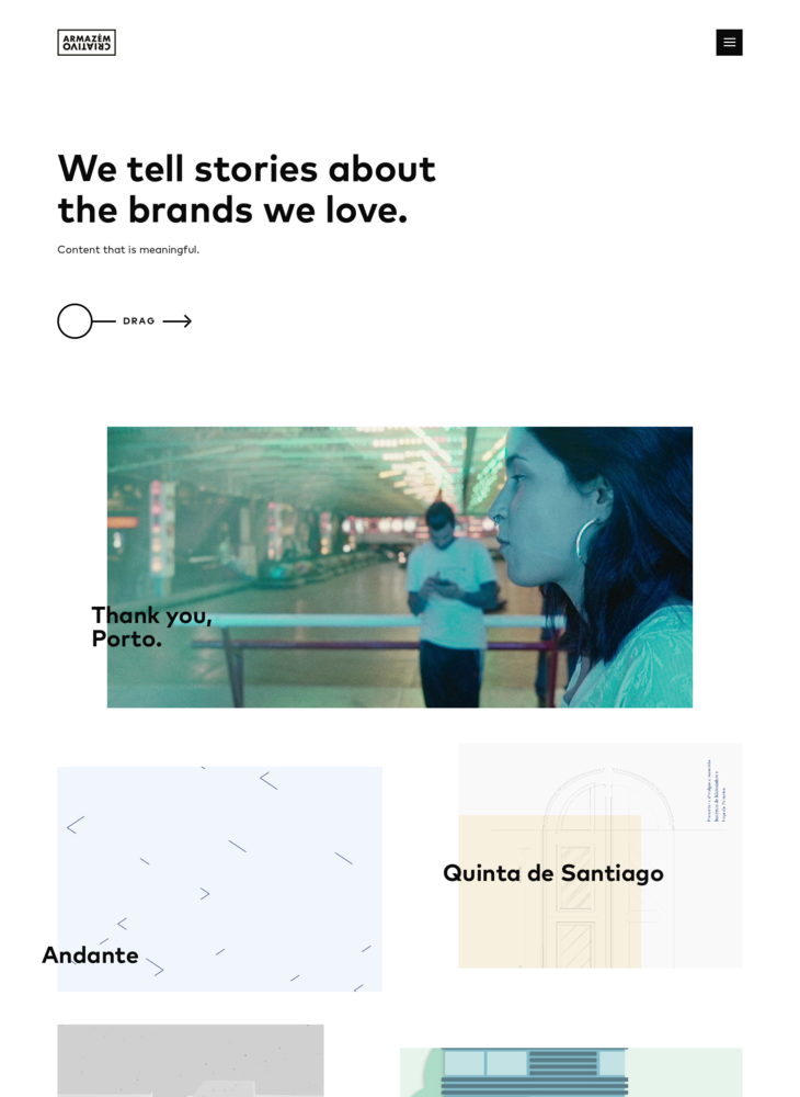 Armazém Criativo - Sharing stories for the brands we love.