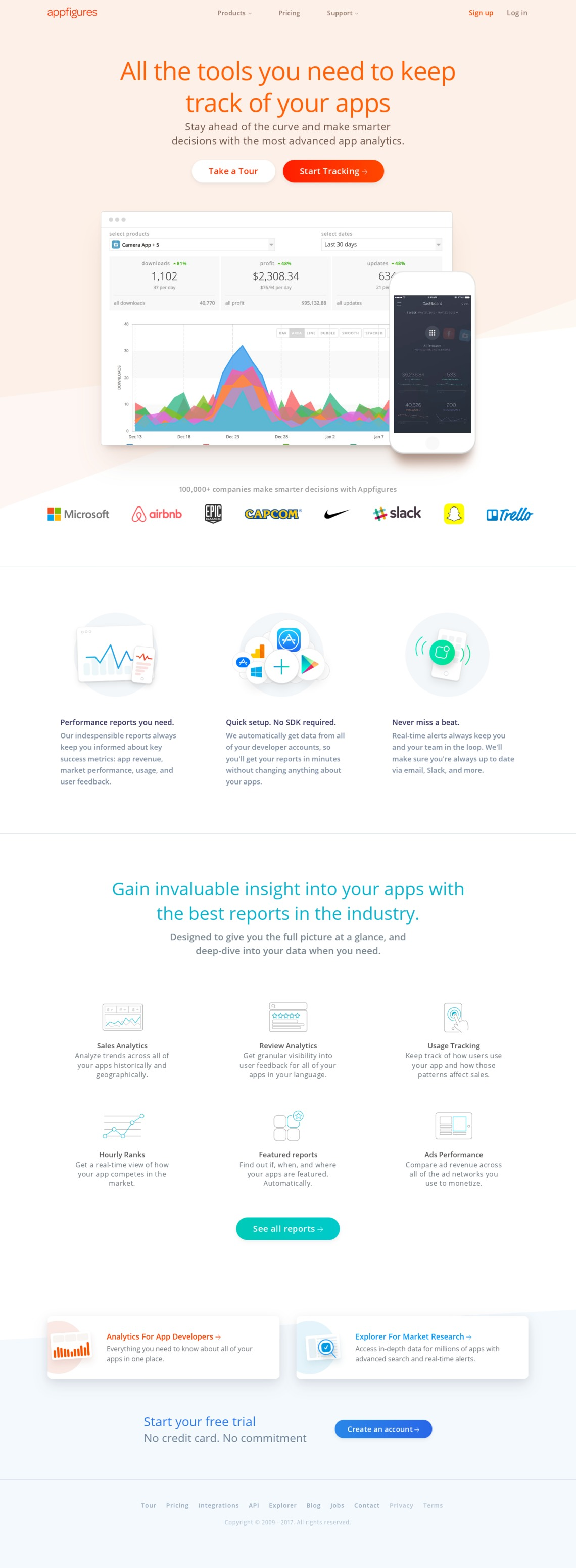 App Store Analytics by Appfigures