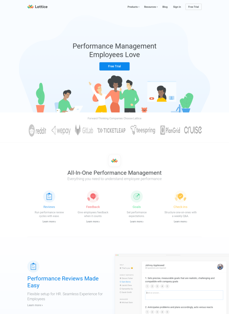 Lattice | Performance Management Software