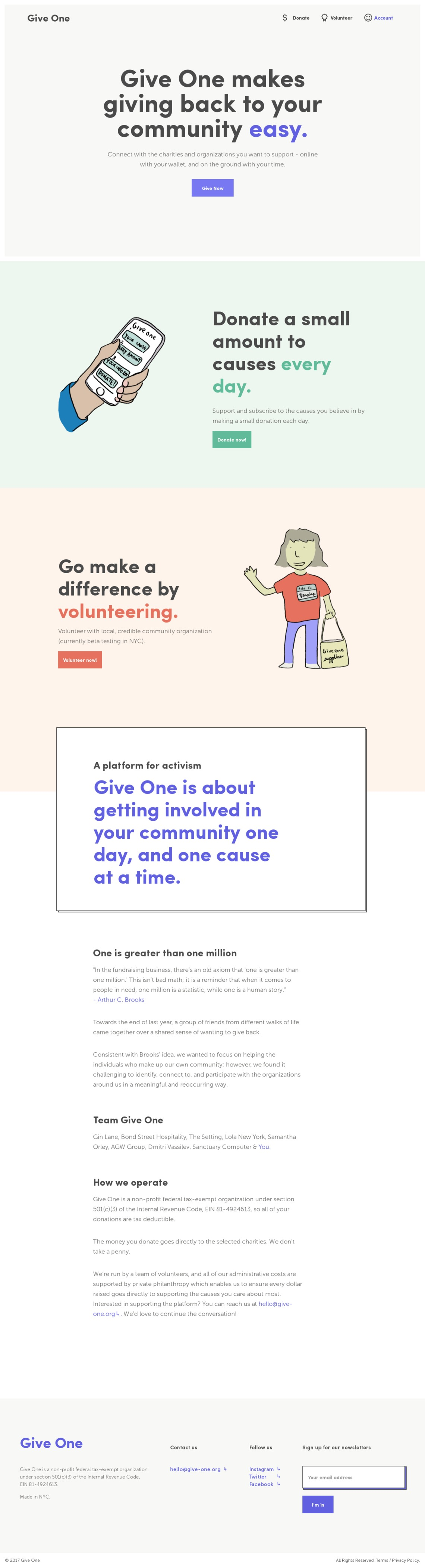 https://give-one.org/