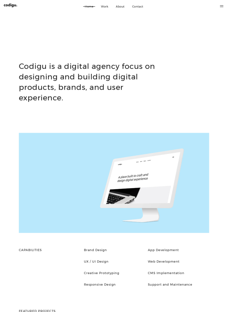 Codigu. Digital Web Design Agency