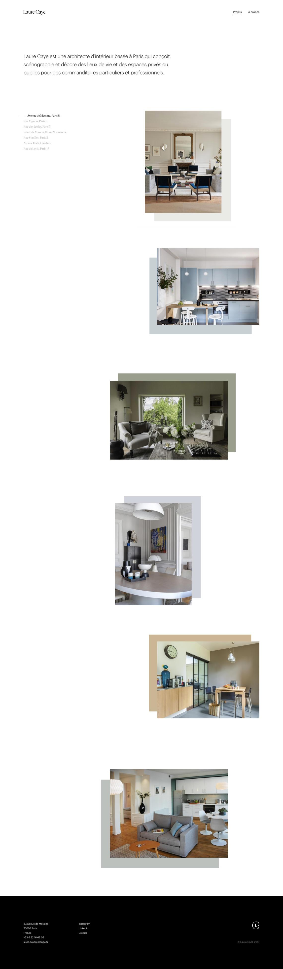 Architecte D Intérieur Paris 8 laure caye   land-book - the finest hand-picked website