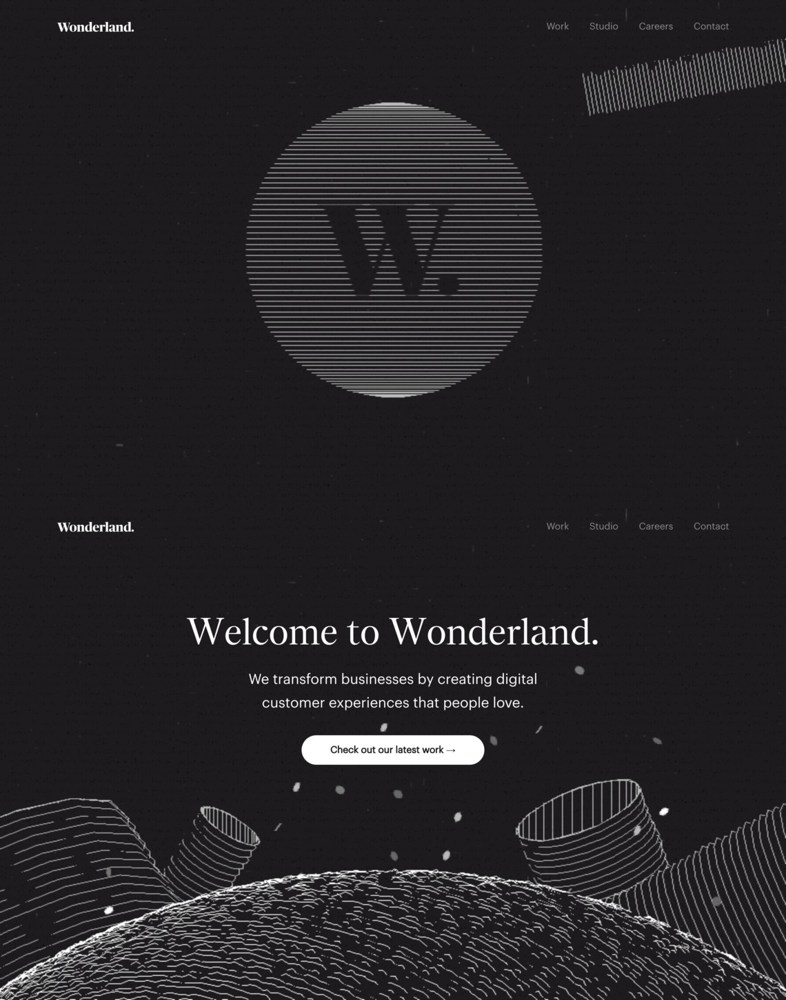 Wonderland. - UX Design Studio.