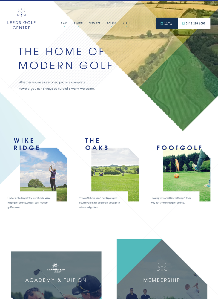 Golf in Leeds | Golf Course & FootGolf | Leeds Golf Centre