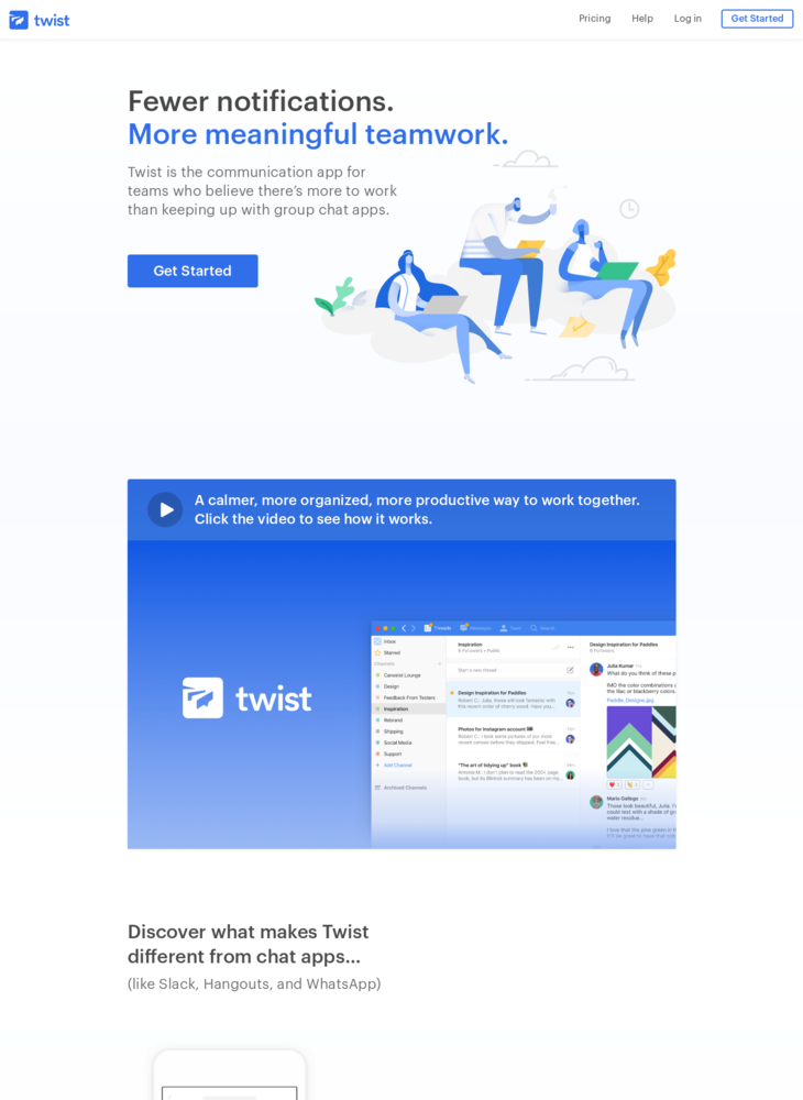 Twist - Mindful Team Communication