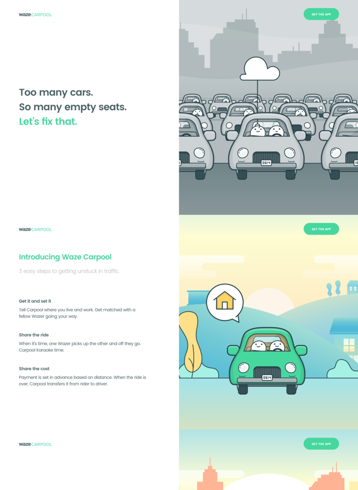 Waze Carpool - Home