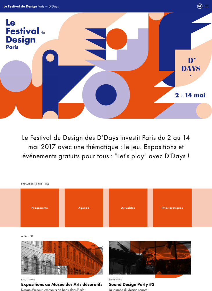 Le Festival du Design — Paris — D'Days