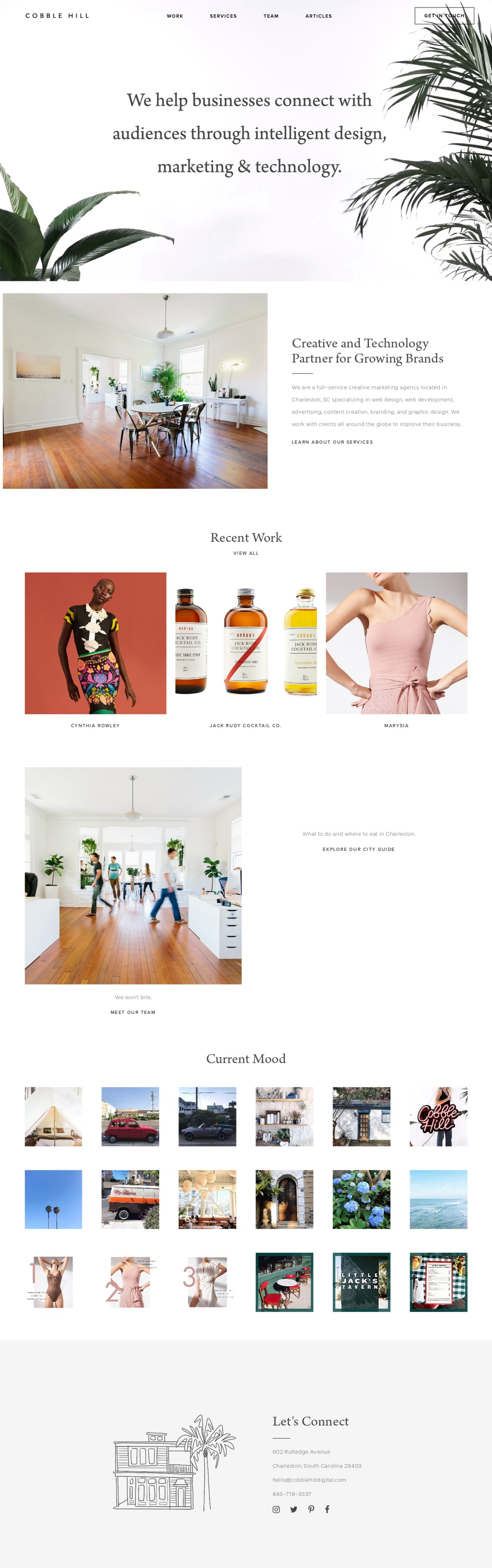 Cobble Hill Land Book The Finest Hand Picked Website Inspirations