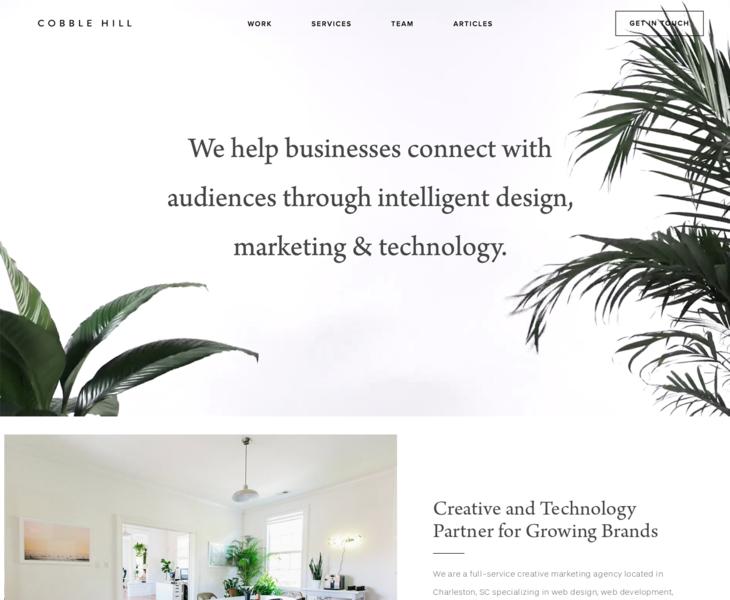 Cobble Hill Web Design Marketing Agency In Charleston Sc Search By Muzli