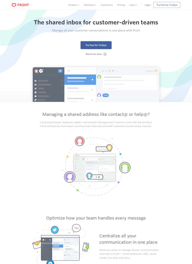 Front | The shared inbox for collaborative teams