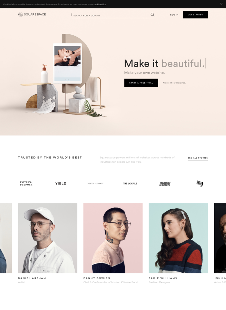 Build a Website - Squarespace
