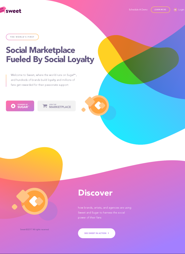 Sweet – Social Action Marketplace