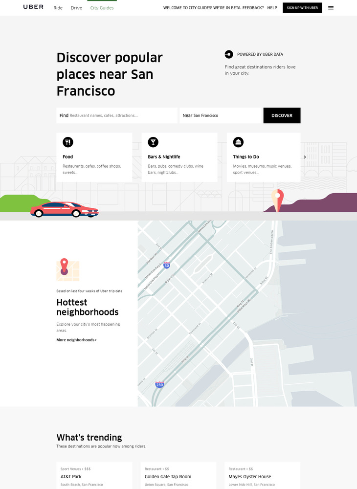 Explore Restaurants and Things to Do near San Francisco | Uber Local