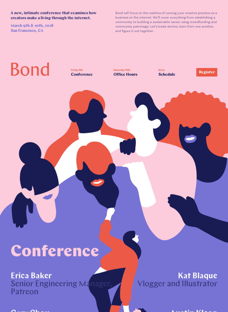 Bond · March 9th & 10th, 2018 · San Francisco, CA