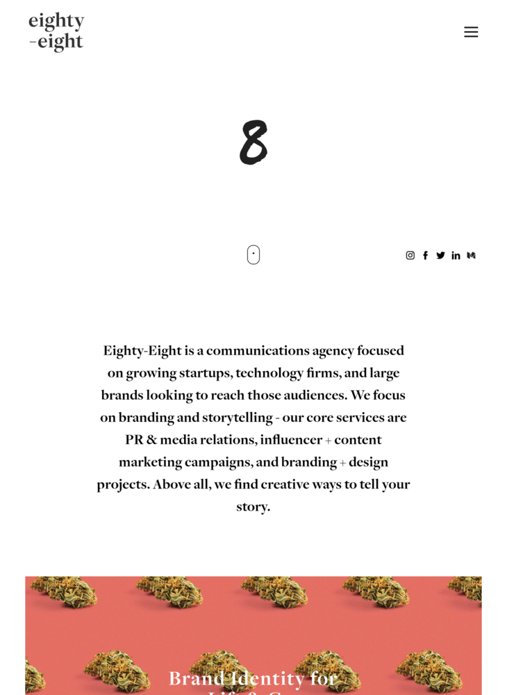 Eighty-Eight – A creative communications agency