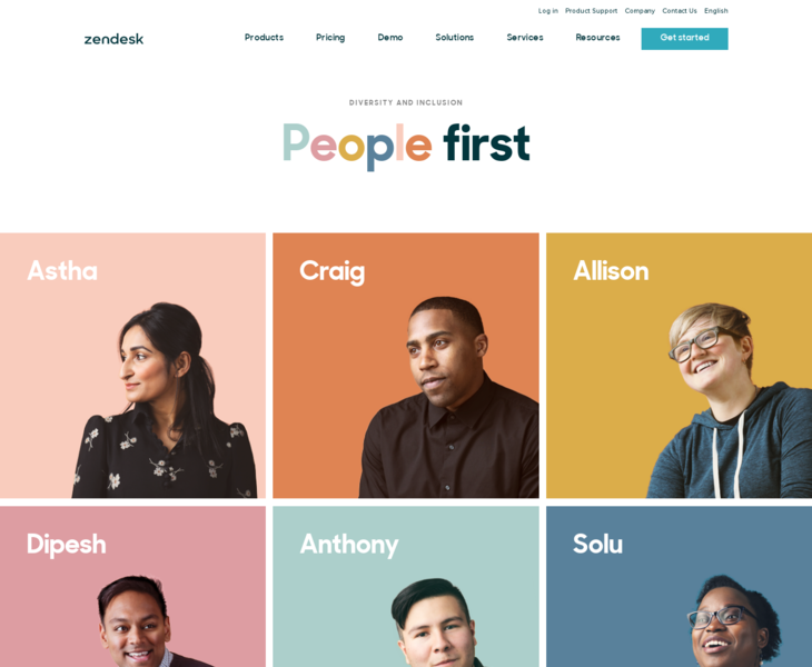 People | Land-book - the finest hand-picked website inspirations