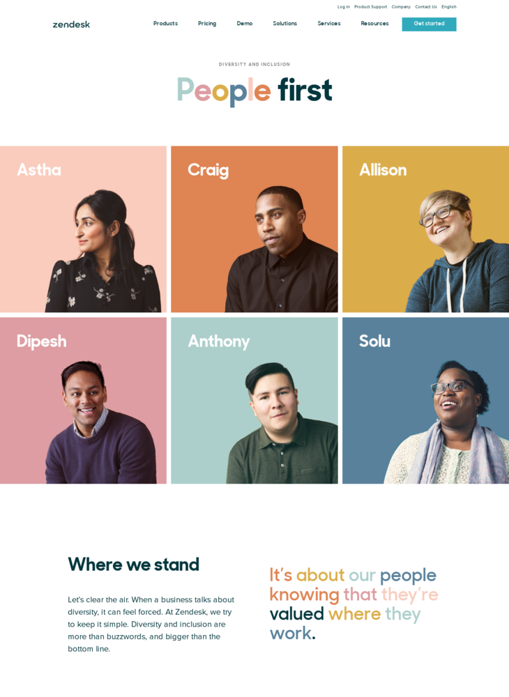 People First: Diversity & Inclusion at Zendesk