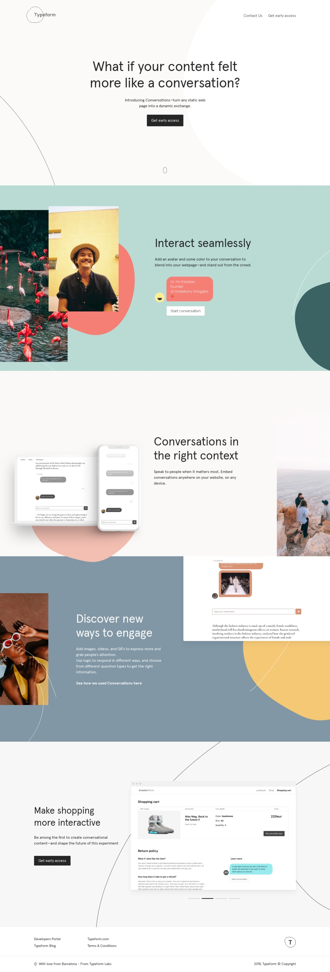 Conversations by Typeform