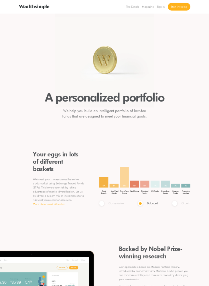 The Details | Wealthsimple