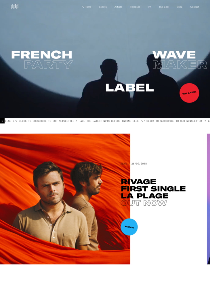 Roche Musique | French Label | Accueil