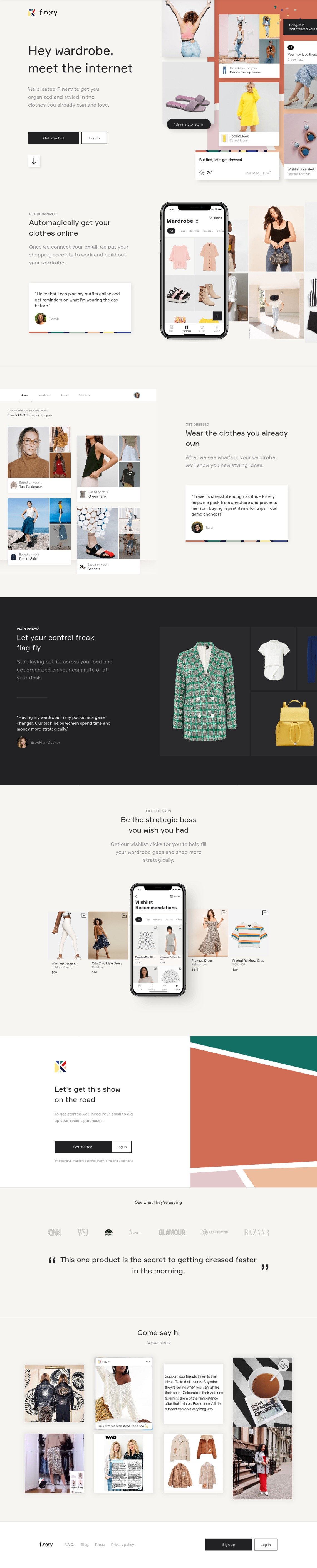 Finery: The Wardrobe Operating System™