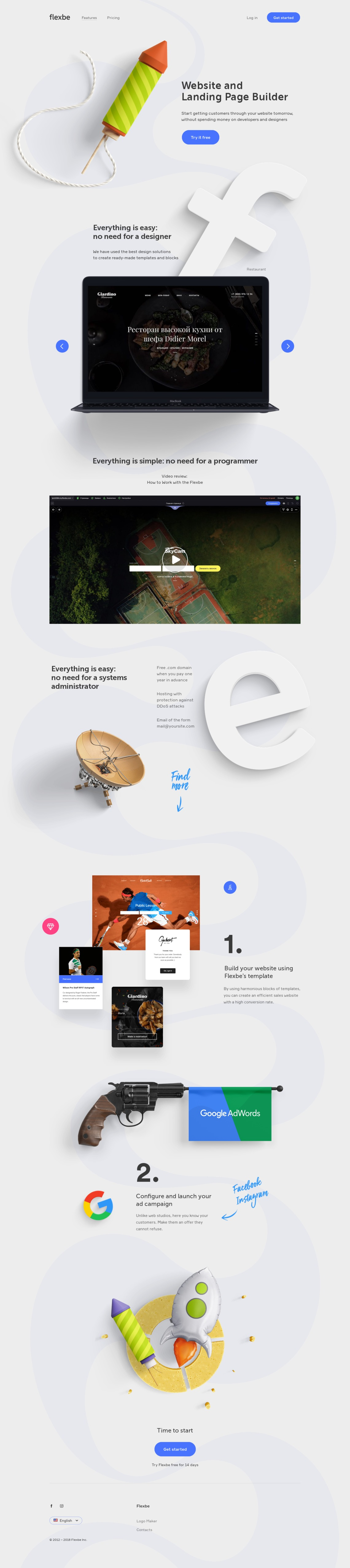 Flexbe — Website and Landing Page Builder